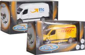 Speedzone D/C Transporter mit Rückzug, 2-fach sortiert