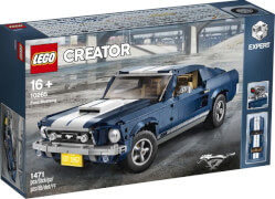 LEGO® Creator 10265 Creator Ford Mustang, Seltenes Set, 1471 Teile, ab 16 Jahre