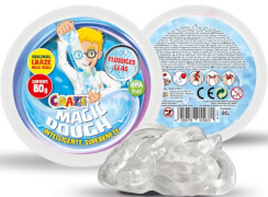 Craze Magic Dough Intelligente Superknete, Flüssiges Glas, ca. 80 g in Dose, BPA- und glutenfrei, ab 36 Monaten